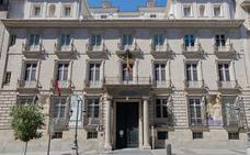 La Academia de Bellas Artes cierra tres salas ante el riesgo de daños por unas obras anejas