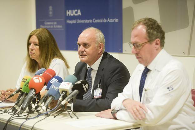 Los cuatro heridos ingresados en el HUCA evolucionan favorablemente