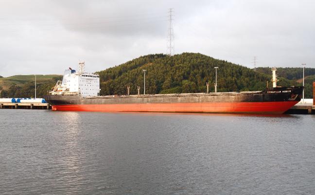 Retenido en Dinamarca un tercer buque de la misma compañía que el 'Severnaya Zemlya'
