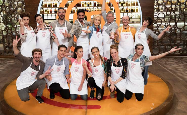 Estos son los concursantes de Masterchef Celebrity 3