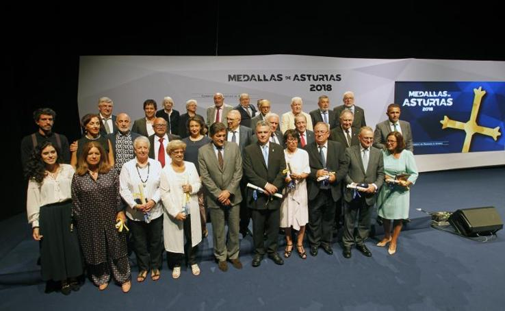 Asturias entrega sus medallas