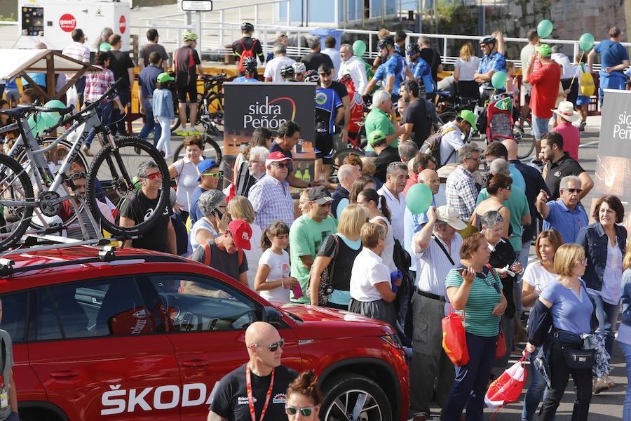 La Vuelta entra en Asturias en su XIII etapa La prueba ha transcurrido desde Candás hasta La Camperona