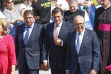 Personalidades de todas las instituciones arropan a la Princesa de Asturias en Covadonga
