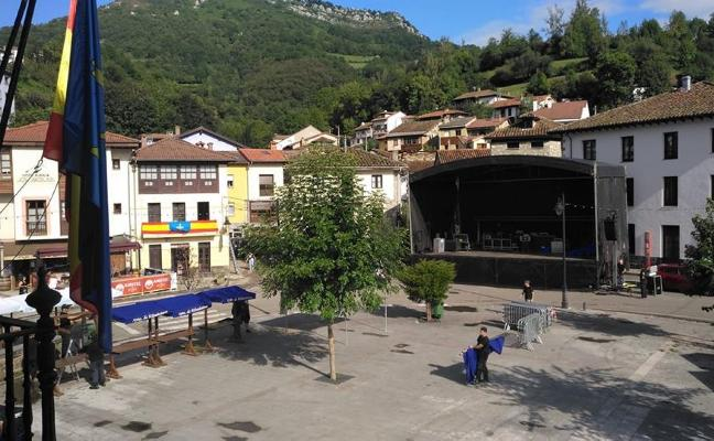 Caso, el epicentro del Día de Asturias