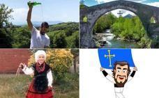 Los famosos celebran el Día de Asturias en redes sociales