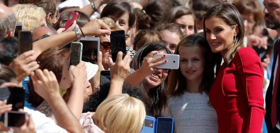 Asturias recibe con los brazos abiertos a su Princesa
