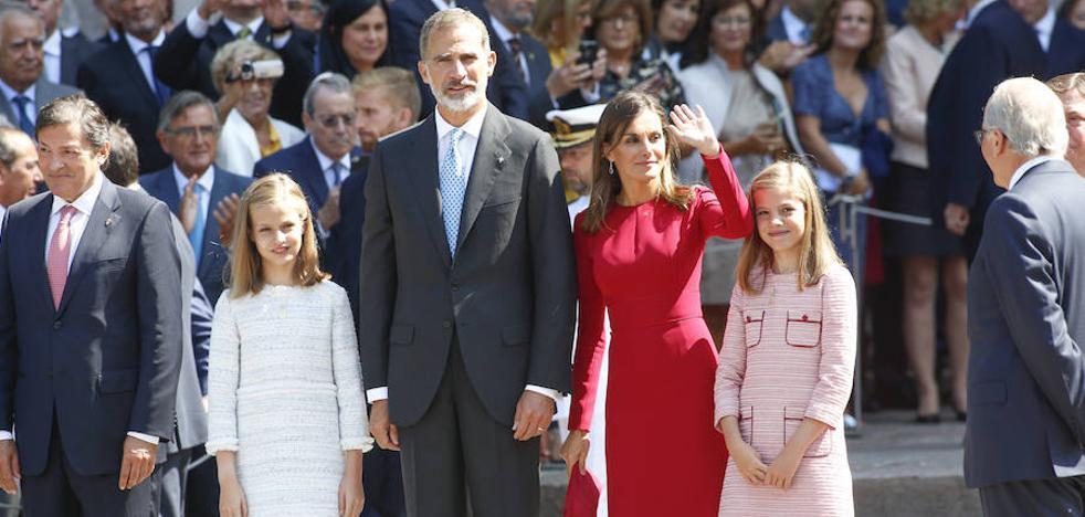 El Rey, en la visita de Leonor a Covadonga: «Es un día para la historia»