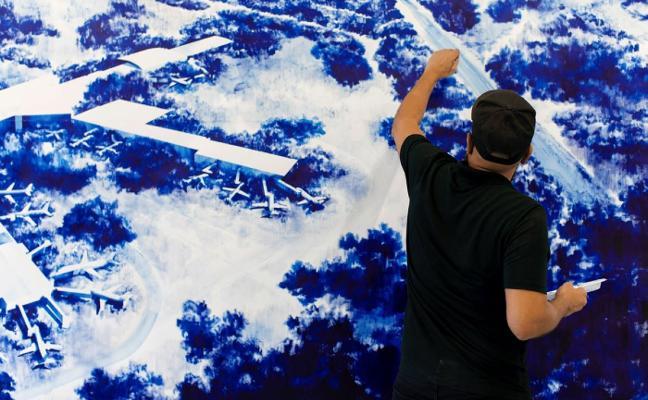 ATM reivindica el dibujo en la Art on Paper de Bruselas