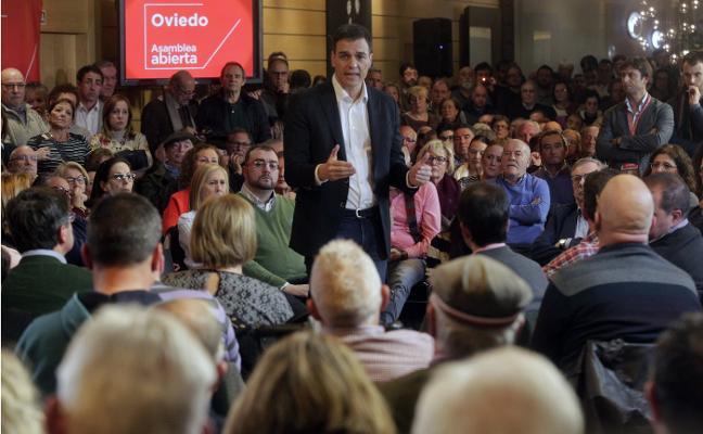 Sánchez celebra en Asturias sus cien días de Gobierno bajo la amenaza de adelanto electoral
