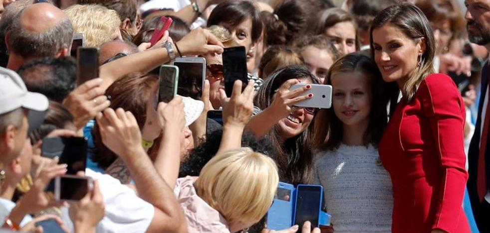 La Princesa de Asturias: «Me ha gustado mucho Covadonga»