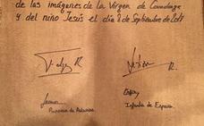 Dos firmas para la historia