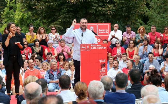 Barbón aboga por «una puesta a punto» que rejuvenezca el proyecto del PSOE en Asturias