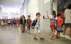 66.464 alumnos de Infantil y Primaria inician hoy las clases