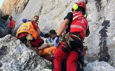 Fallece el montañero que resultó herido grave tras caer quince metros en el Urriellu