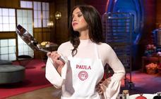 Paula Prendes, primera expulsada de 'MasterChef Celebrity': «Estoy tristísima»