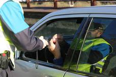 Detienen en Avilés a un conductor que cuadruplicaba la tasa de alcohol e invadía el carril contrario