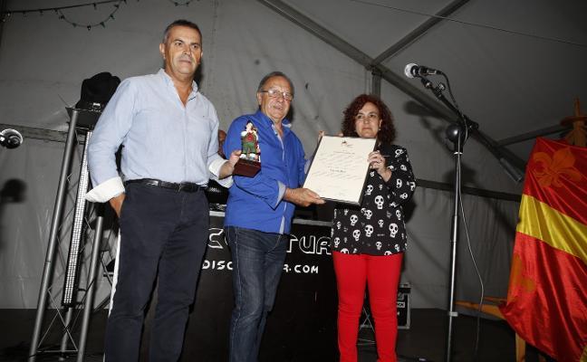 La Foz de Morcín nombra Gaiteru 2018 a Vicente Díaz