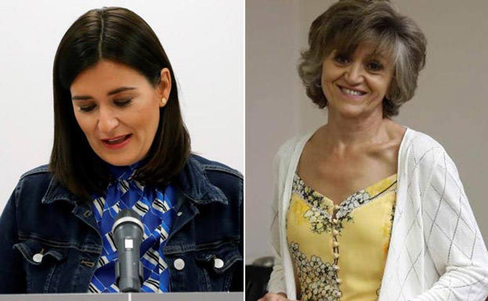 Resultado de imagen de Carmen Montón y María Luisa Carcedo