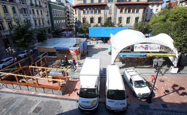 La Fundación de Cultura da por cerrada la asignación de las casetas para San Mateo
