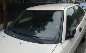 La aparición de un coche con dos disparos provoca la alarma en Infiesto