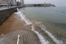 La mar vuelve a cubrir San Lorenzo