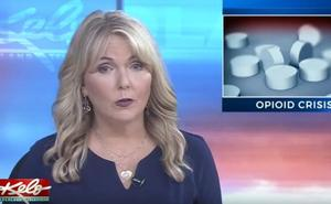 Una presentadora informa en directo de la muerte de su hija