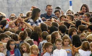 Asturias presume de innovación educativa ante la Reina