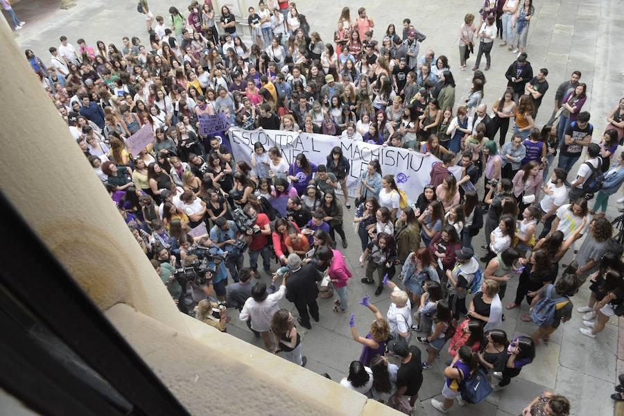 Los universitarios, contra el machismo en las aulas