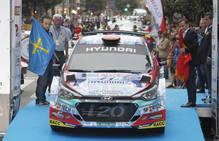 Comienza el 55º Rally Princesa de Asturias