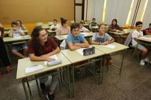 Genaro Alonso inaugura en Navia el curso de Secundaria y Bachillerato