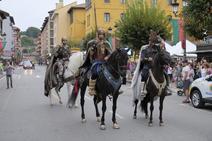 Cangas de Onís corona al rey Pelayo