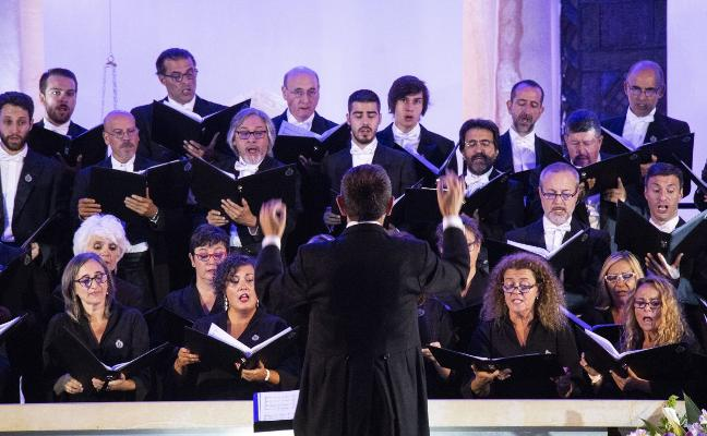 El Coro de la Fundación Princesa triunfa en Bogotá