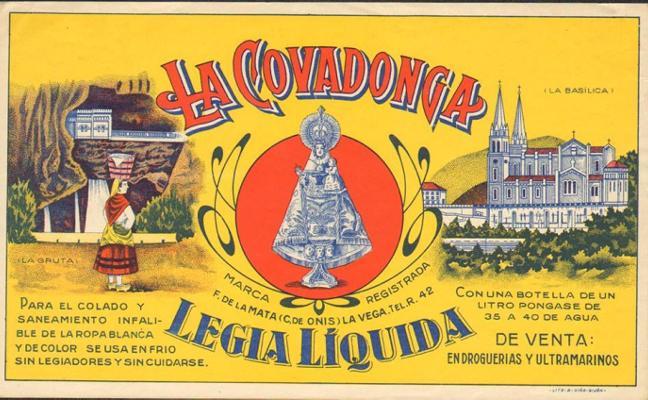 Discografía e iconografía de Covadonga, en Gijón