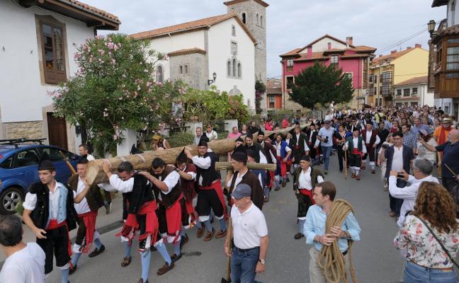 Una hoguera de 35 metros para el Cristo en Nueva