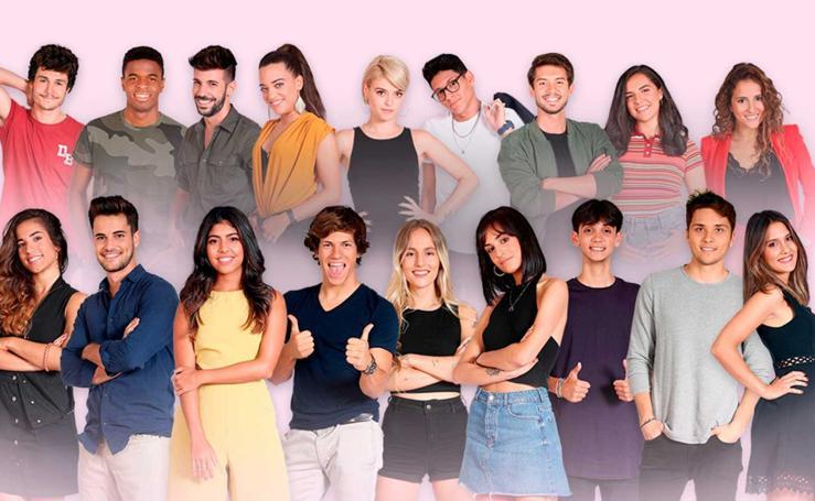 Estos son los concursantes de 'Operación Triunfo 2018'