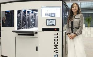 Una impresora revolucionaria fabricada en Gijón