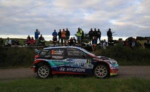 'Cohete' Suárez se corona en el Rally Princesa de Asturias