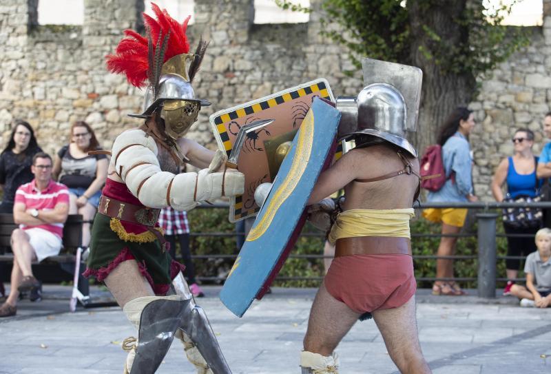 Los gladiadores toman Campo Valdés