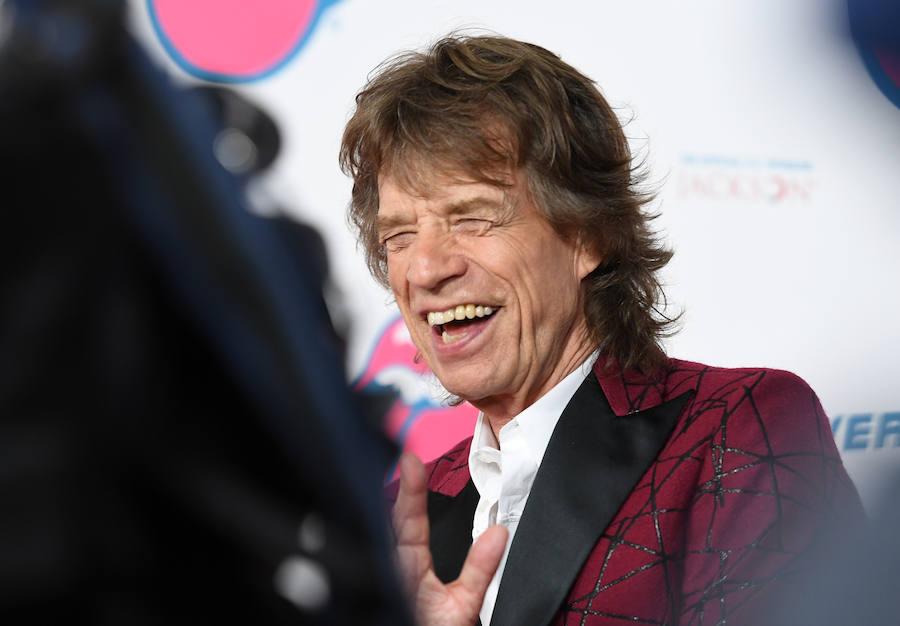 Histórico encuentro entre Mick Jagger y Jerry Lee Lewis