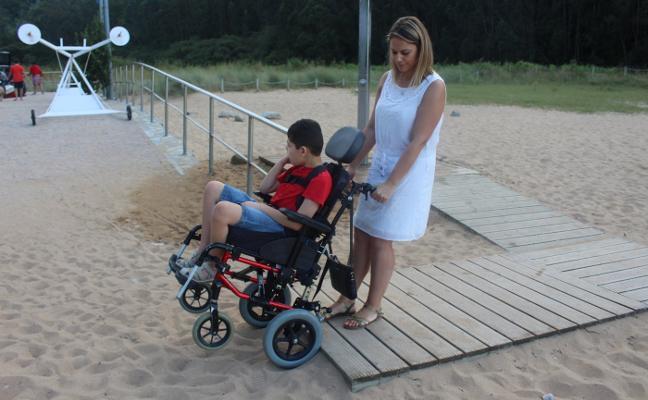 Accesibilidad a medias en La Ñora