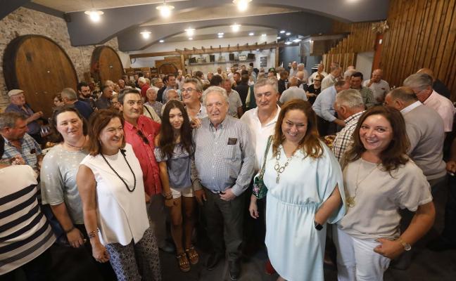 Fiesta para celebrar los 80 años del constructor José González