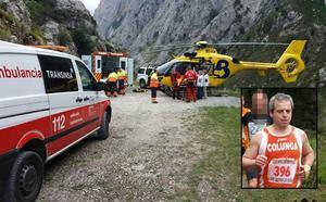 Un montañero gijonés de 56 años fallece al caer desde cien metros mientras hacía una ruta en Cabrales
