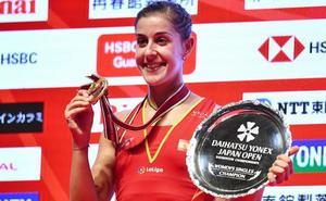 Carolina Marín suma otro Abierto de Japón a su historial