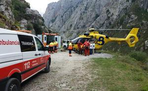 Encuentran el cadáver de un montañero desaparecido este sábado en Cabrales cuando hacía una ruta