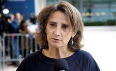 La ministra Teresa Ribera rechaza la incineración de residuos en La Pereda