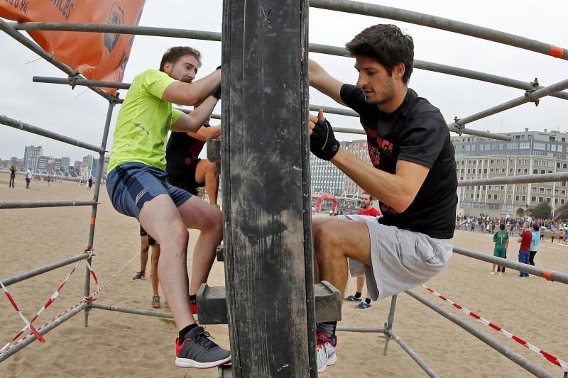 Deporte y diversión en la IV Storm Race de Gijón