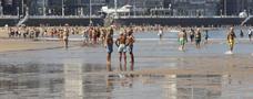 El verano cierra sus puertas en Asturias con altas temperaturas