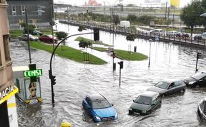 Las obras para evitar nuevas inundaciones en Llano Ponte acumulan casi un año de retraso