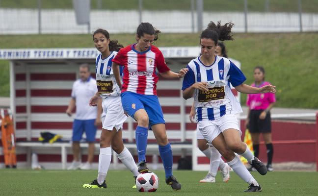 El Sporting y el Oviedo golean