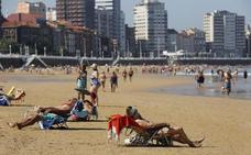 El final del verano dispara los termómetros en Asturias
